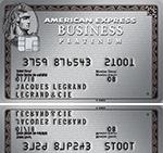 Garanties incluses dans la Carte Business Platinum